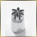 насадка №093 Цветок-звезда  6 лепестков