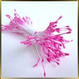 пестики-тычинки перлам. 1мм розовые темн. (лиловые)