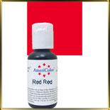краска гелевая красная (red red)  21г насыщенная