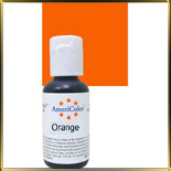 краска гелевая оранжевая (orange)  21г