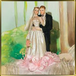фигурка свадебная 24см