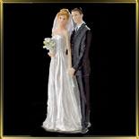 фигурка свадебная 39см