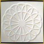 шаблон силикон. 3D Розетка ажурная