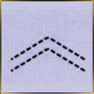 пинцет (щипцы) д/мастики Елочка рифлен. 15мм н/с