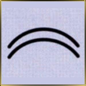 пинцет (щипцы) д/мастики Дуги 10мм н/с