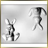 форма д/шок. Кролик с морковкой 3D