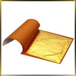 золото листовое 10шт. 91.5*91.5мм