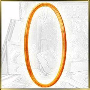 форма силикон. 3D Рамочка Овал 16*12см
