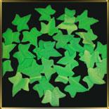 листик 35мм Плющ зеленый 30шт. мастика сах.