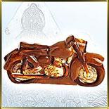 форма поликарб. 3D Мотоцикл 160мм