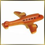форма поликарб. 3D Самолет 150мм