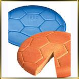 форма силикон. Мяч футбольный