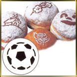 трафарет д/булочек Футбольный мяч