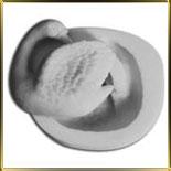 форма силикон. Лебедь