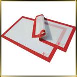 лист силикон. 600*400мм белый с каймой