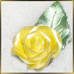 краска д/поверхности жёлтая 21г жидкая (перламутр)