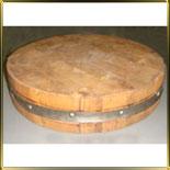доска деревян. наборная круглая d350*70мм
