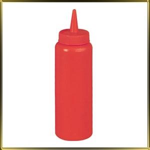бутылочка 680мл красная