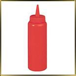 бутылочка 225мл красная