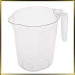 чаша мерная пласт. 0,5л