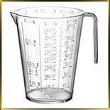 чаша мерная пласт. 0,25л