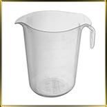 чаша мерная пласт. 1,0л