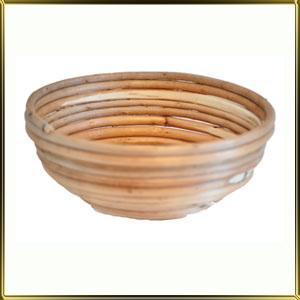 корзина д/расстойки хлеба круг. 0,6кг лоза