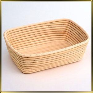корзина д/расстойки хлеба прямоуг. 1,0кг ротанг