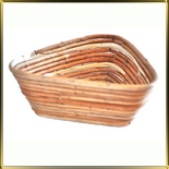 корзина д/расстойки хлеба треуг. 0,8кг лоза