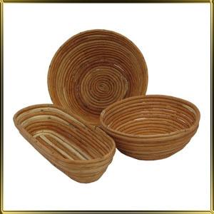 корзина д/расстойки хлеба круг. 1,2кг лоза