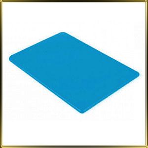 доска пласт. 450*300*12мм синяя