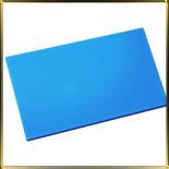 доска пласт. 450*300*10мм голубая