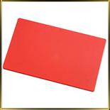 доска пласт. 450*300*10мм красная