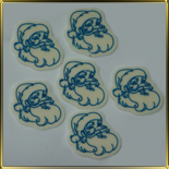 декор шок. Дед Мороз лицо
