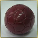 фигурка шок. 3D Мяч футбольный бордовый