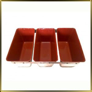 форма алюм. лит. 3-х сек. любой размер с силиконовым покрытием ПОД ЗАКАЗ