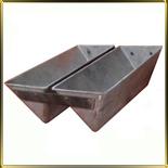 форма алюм. лит. 2-х сек. треугол. 227*117*92мм Бутербродная с силиконовым покрытием