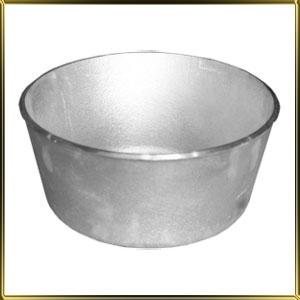 форма алюм. лит. круг. 165* 93мм Пасхальная с силиконовым покрытием