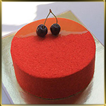 форма д/тортов, суфле, мороженого 260*60мм неразъемная пласт.
