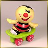 форма д/шок. Пчелка на скейте 100мм