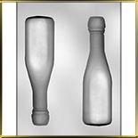 форма д/шок. Бутылка шампанского 3D
