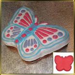 форма силикон. Бабочка