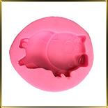 форма силикон. Свинка