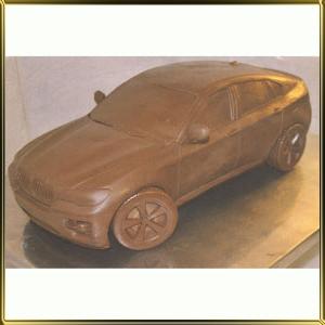 форма силикон. 3D Машина BMV X5