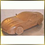 форма силикон. 3D Машина Ферарри