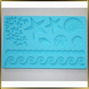 форма силикон. Море