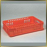 лоток д/хлеба ящик перф. прямой 600*400*131мм (вес 1,4кг)