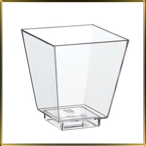 стаканчик пл. Трапеция  50мл (25шт.) прозр.