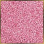 жемчуг розовый  3мм 100г матовый