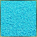 жемчуг голубой 3мм 100г матовый